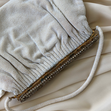 Load image into Gallery viewer, Vintage French 1960s Saks Fifth Avenue Glass Beaded Bag Clutch