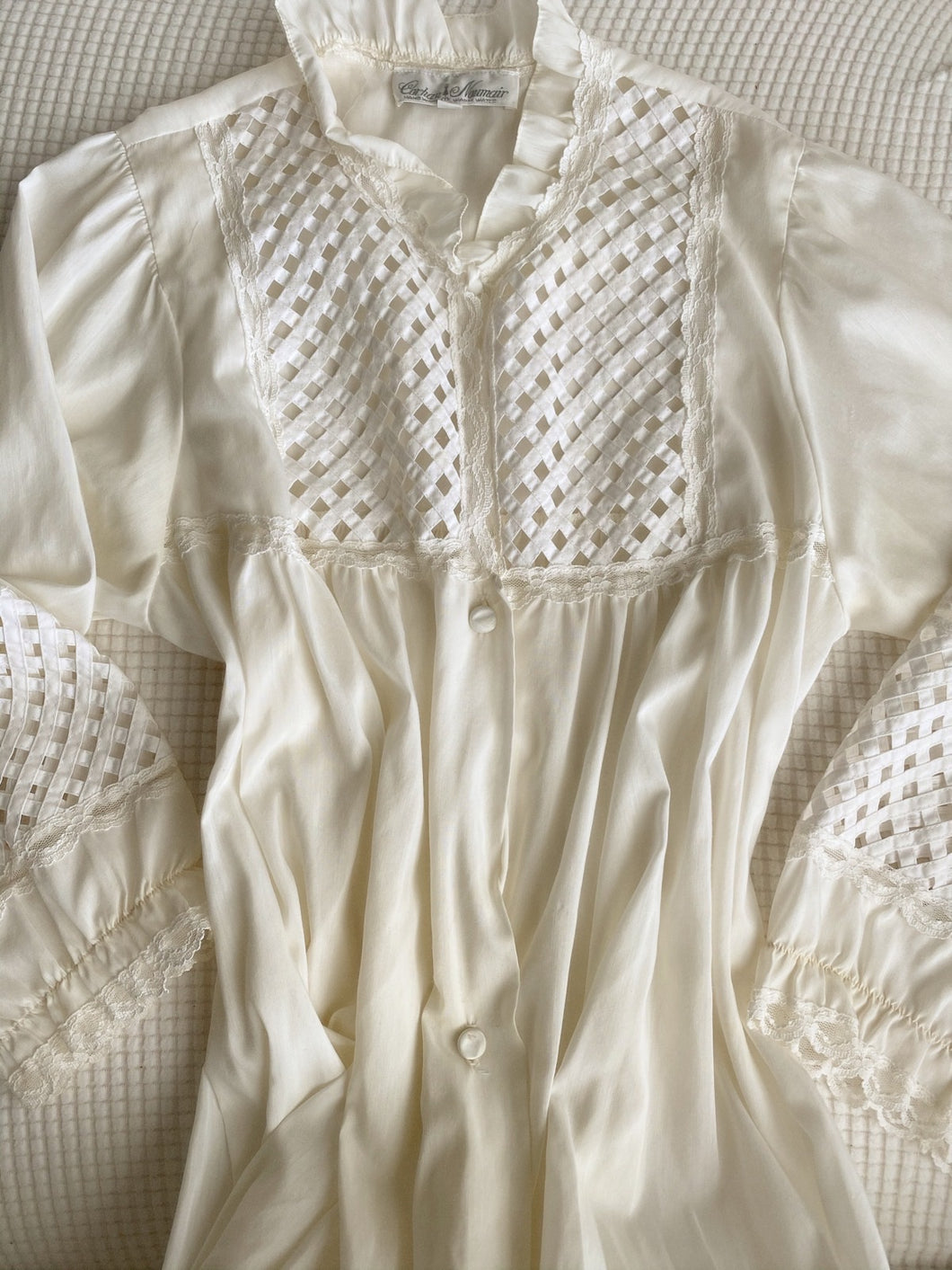Vintage Romantic Night Gown