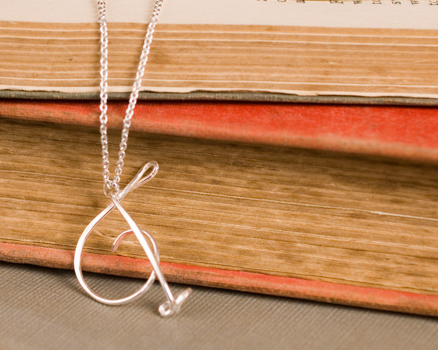 T necklace