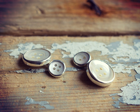 Double button cufflinks medium