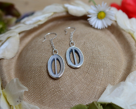 Drop buckle earrings (one-off)