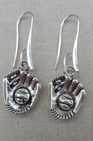 Baseball Glove Earrings