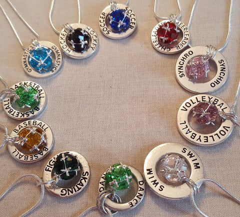 Birthstone Affirmation Necklaces