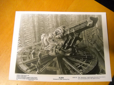 Alien Space Jockey Pressefoto U.S.A  24 x 18