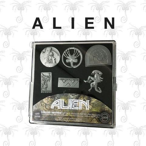 Alien Ansteck-Pin 6er-Pack Limited Edition