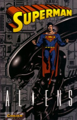 Alien gegen Superman - Comic