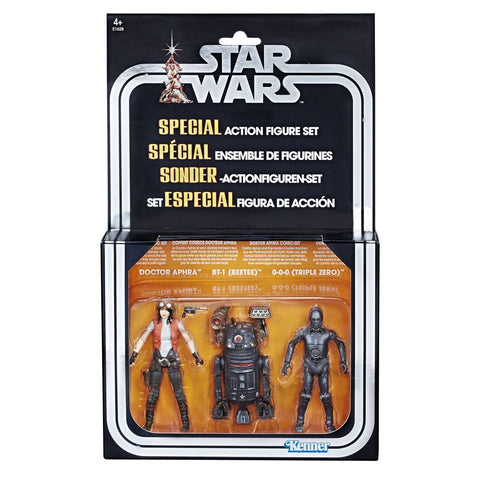 Star Wars Premium Vintage Collection Actionfiguren 3er-Pack Doctor Aphra Set Exclusive 10 cm