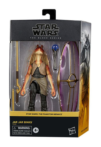 Star Wars Ep.1 Black Series Deluxe Actionfigur 2021 Jar Jar Binks 15 cm