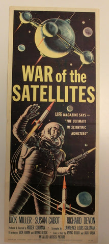 War of the Satellites -  Originalplakat