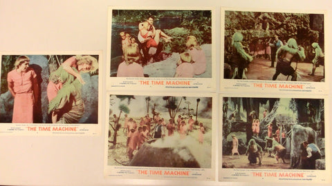 The Time Machine - Lobbycards