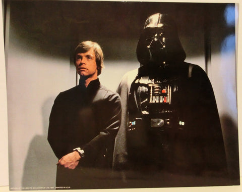 Star Wars Original-Filmfoto - Luke Skywalker & Darth Vader