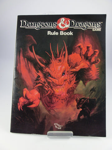 D&D Dungeons and Dragons - Rule Book TSR 1991 - engl.