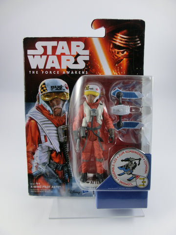 X-Wing Pilot Asty 10 cm Action Figur The Force Awakens