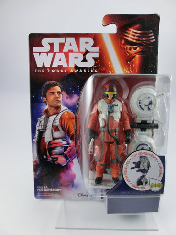 Poe Dameron Pilot 10 cm  Action Figur The Force Awakens
