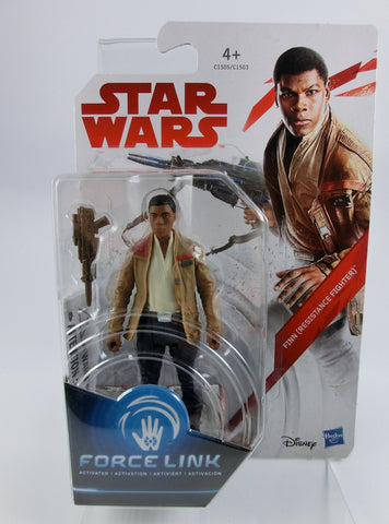 Finn (Resistance Fighter) 10 cm Action Figur Force Link 2.0