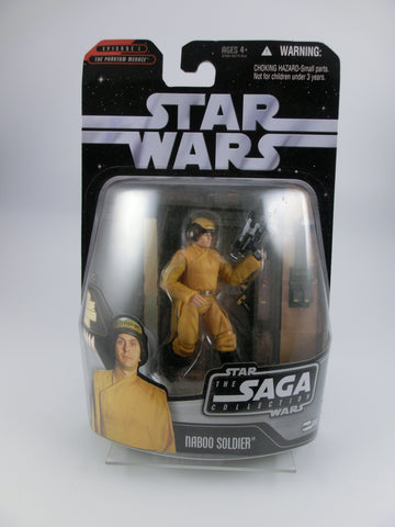 Naboo Soldier 10 cm Action Figur The Saga Coll.