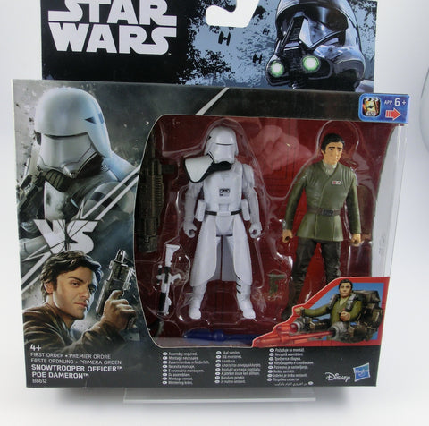 Snowtrooper Officer + Poe Dameron 2er Set Action Figur