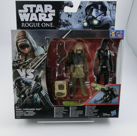 Rebel Commando Pao + Death Trooper 2er Set Action Figur