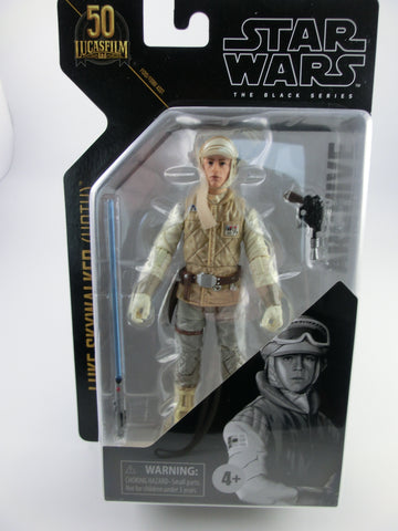 Luke Skywalker (Hoth) Black Series 50 Anv. Archive Actionfigur 2021  Wave 1