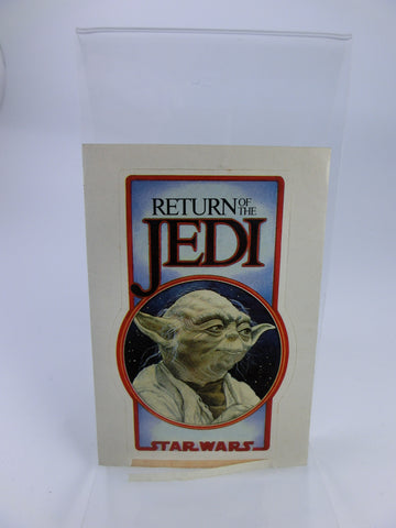 The Return of the Jedi Yoda Sticker / Aufkleber