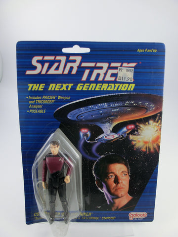 Riker Star Trek Actionfigur 10 cm Galoob von 1988