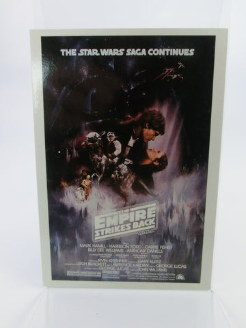 Star Wars Mini - Poster- Trading Card Topps widevision 2 of 6