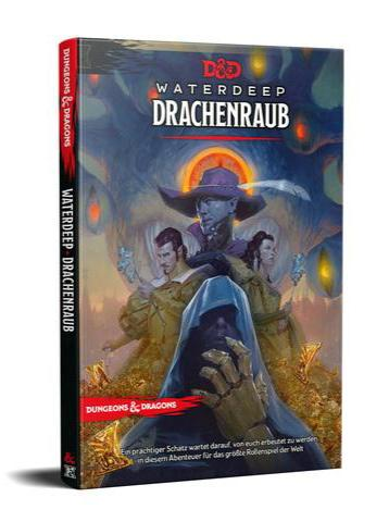 D & D Dungeons & Dragons Waterdeep: Drachenraub