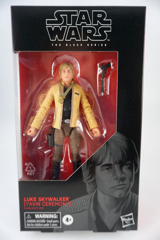 Luke Skywalker (Yavin Ceremony), 15cm, Black Series 100
