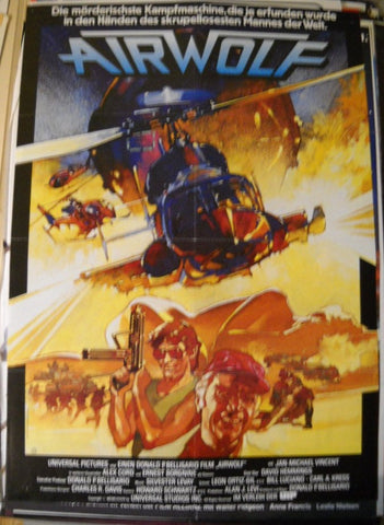 Airwolf original Filmplakat