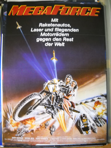 MegaForce, Filmplakat