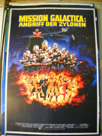 Mission Galactica, Filmplakat