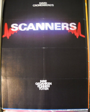 Scanners- Originalplakat