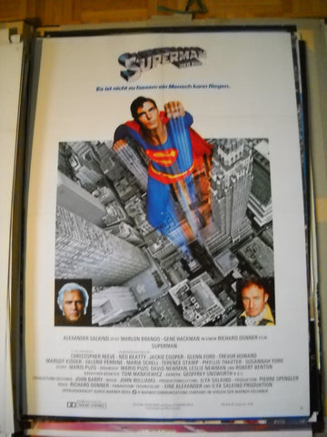 Superman, der Film - Originalplakat