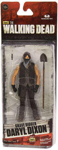 The Walking Dead Daryl Grave Digger Actionfigur13 cm Serie 7