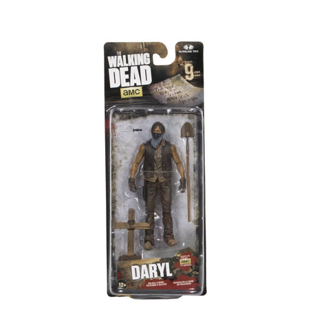 The Walking Dead Daryl Grave Actionfigur13 cm Serie 9