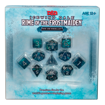 Dungeons & Dragons , engl. : Icewind Dale : Rime o.t. Frostmaiden Dice Set