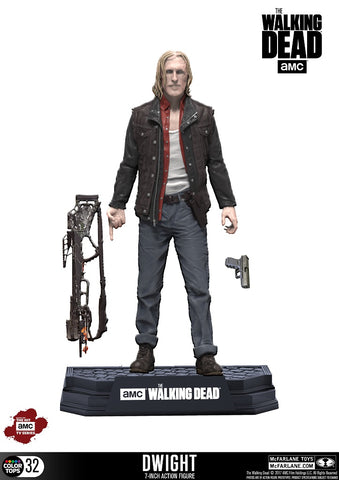 Walking Dead Color Tops Dwight Actionfigur 18 cm