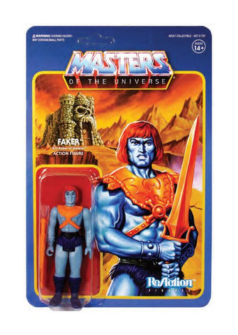 Masters of the Universe ReAction Actionfigur Wave 4 Faker 10 cm