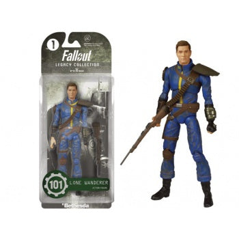 Fallout Lone Wanderer Action Figur, 15 cm