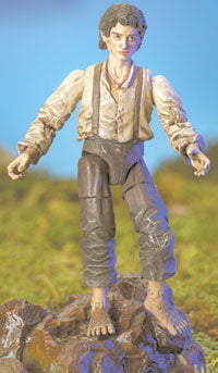Frodo Mount Doom Action Figur