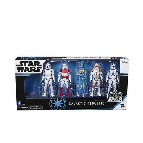Star Wars Celebrate the Saga Actionfiguren 5er-Pack 2020 Galactic Republic 10 cm