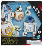Galaxy of Adventures R2-D2, BB-8, D-O Actionfigures 3-Pack 5 , 5, + 4 cm
