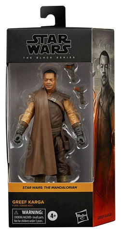 Star Wars Black Series Actionfigur 2021 Greef Karga 15 cm