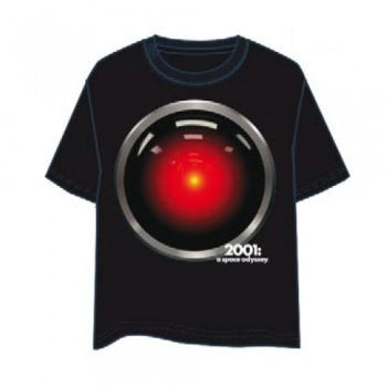 2001: A Space Odyssey - HAL 9000 100% cotton, licensed t-shirt