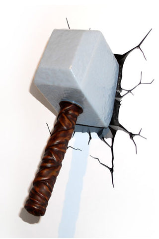 Thors Hammer 3D LED Leuchte