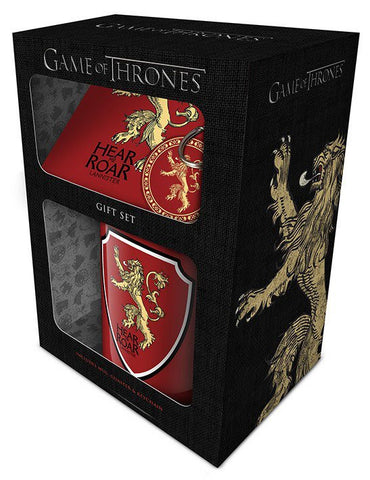 Game of Thrones Geschenkbox Lannister