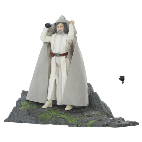 Episode VII Black Series Deluxe Actionfigur 2017 Luke Skywalker Ahch-To Island