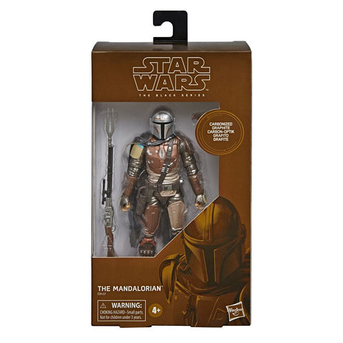 Star Wars The Mandalorian Black Series Carbonized Actionfigur The Mandalorian 15 cm