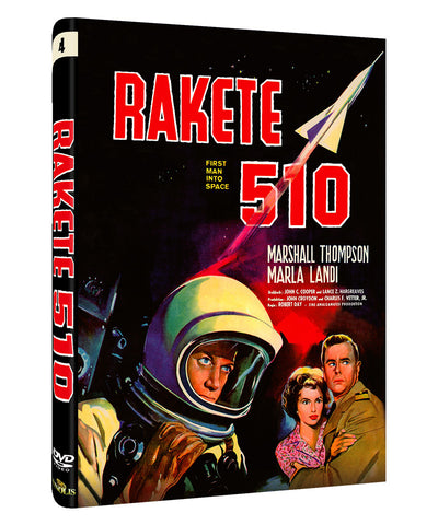Rakete 510 Cover B -  DVD