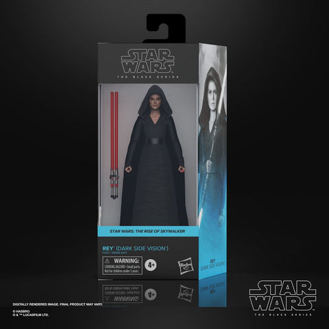 Star Wars Black Series Actionfigur 2021 Rey (Dark Side Visoin) 15 cm